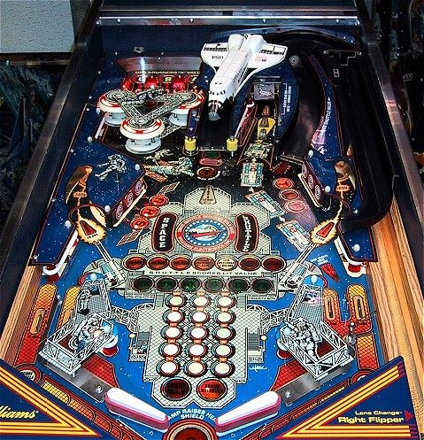 Williams Space Shuttle Pinball -- one of my all-time favorite ...