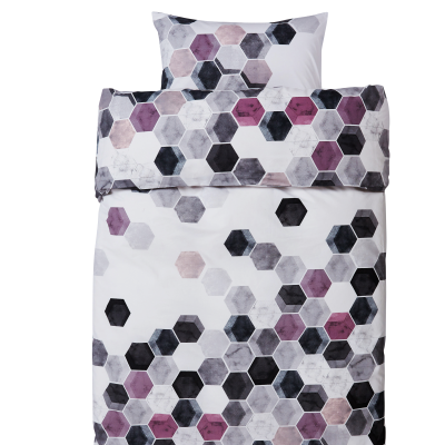 Pussilakanasetti Hexagon