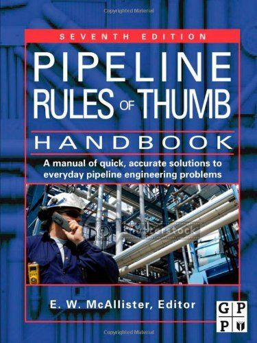 edition fifth handbook pipeline rule thumb