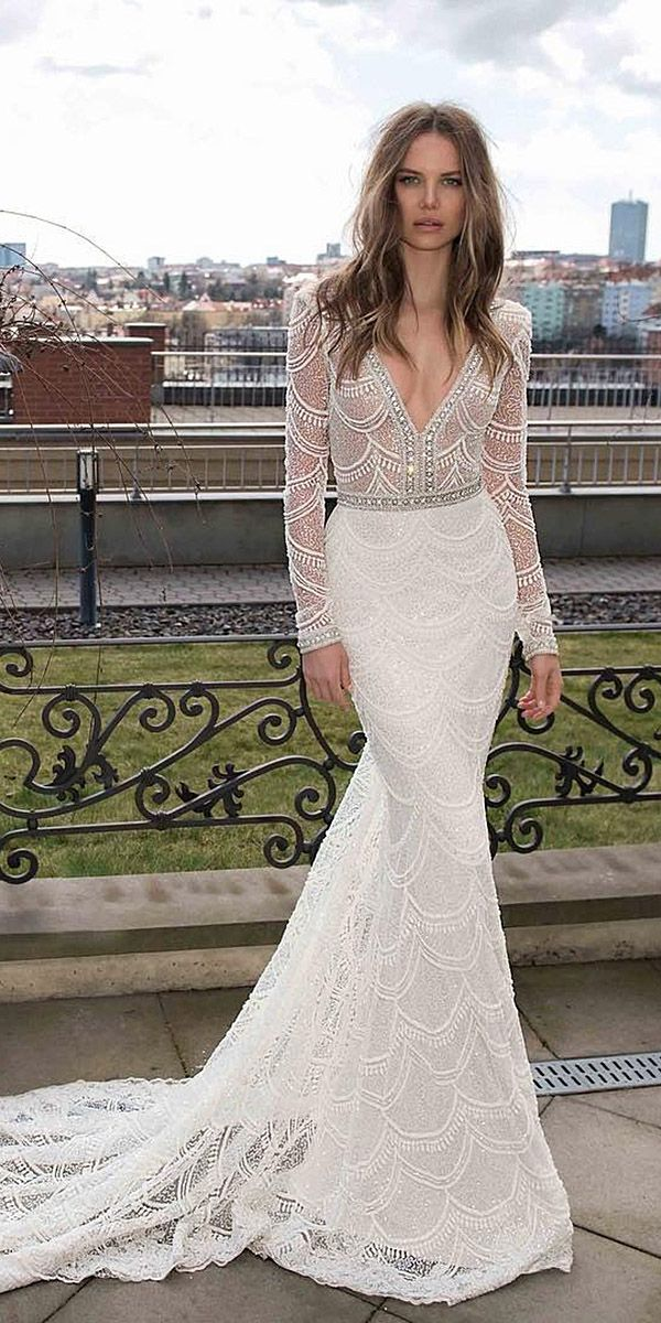 24 Best Lace Wedding Dresses With Sleeves | Lace Wedding Dresses ...