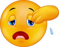 Exhausted And Tired Emoticon On Background Download From Over 50 Million High Quality Stock Photos Images Vectors Sign Up F Emoticon Happy Emoticon Smiley