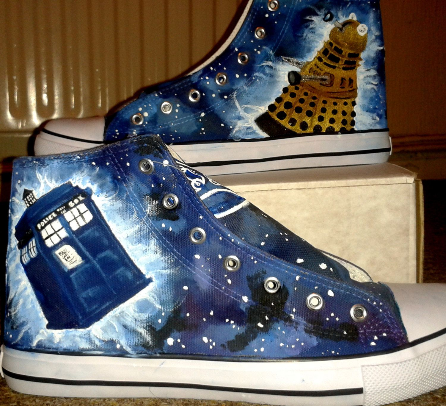 16380796c333 Doctor Who Shoes. £40.00