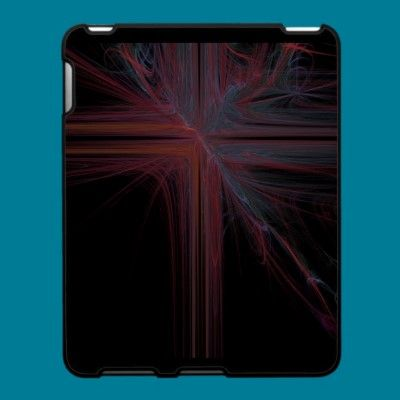 Lightning Cross iPad case by ChristysCrazyCases