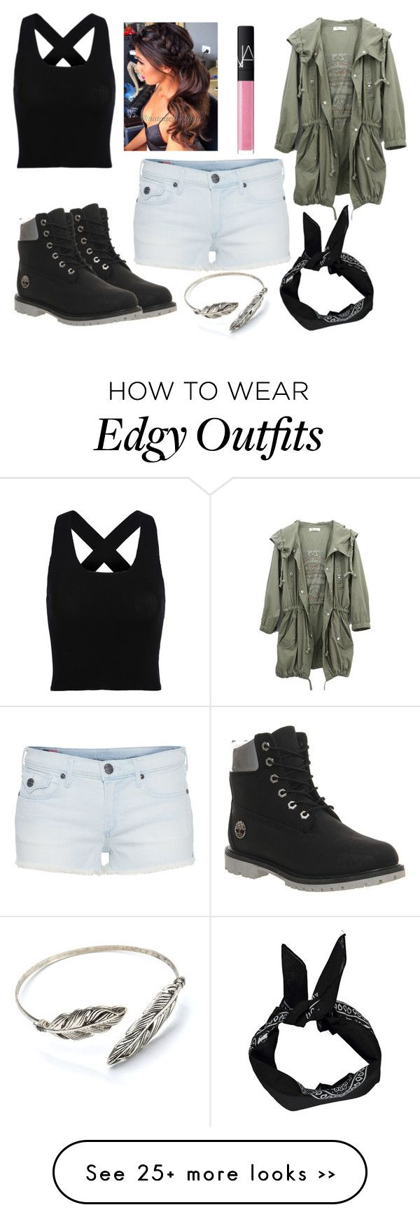 """Edgy Chic"" by lonepinegamer on Polyvore 