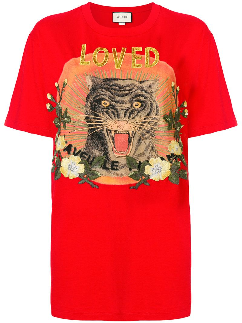 40bf50dd GUCCI LOVED T-SHIRT. #gucci #cloth # | Gucci in 2019 | Love t shirt ...