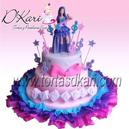 torta de la princesa y la estrella del pop  Buscar con Google
