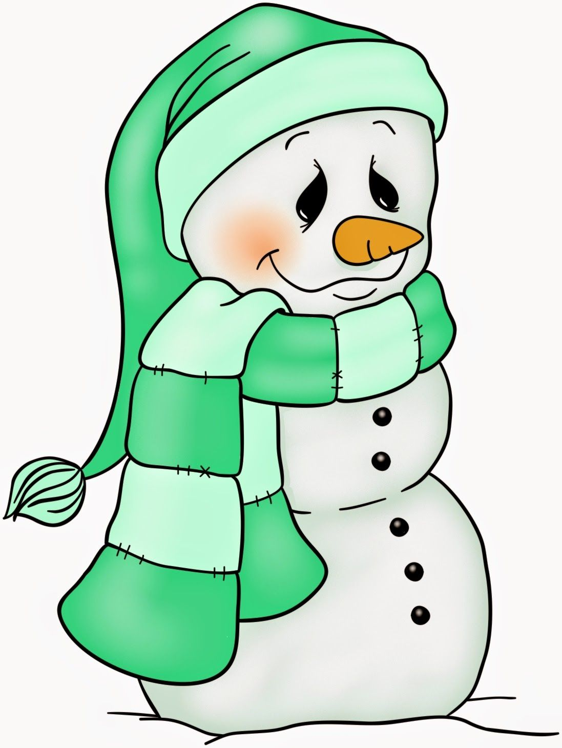 SNOWMAN   quadros natalinos   Pinterest   Stempel, Schneemann und ...