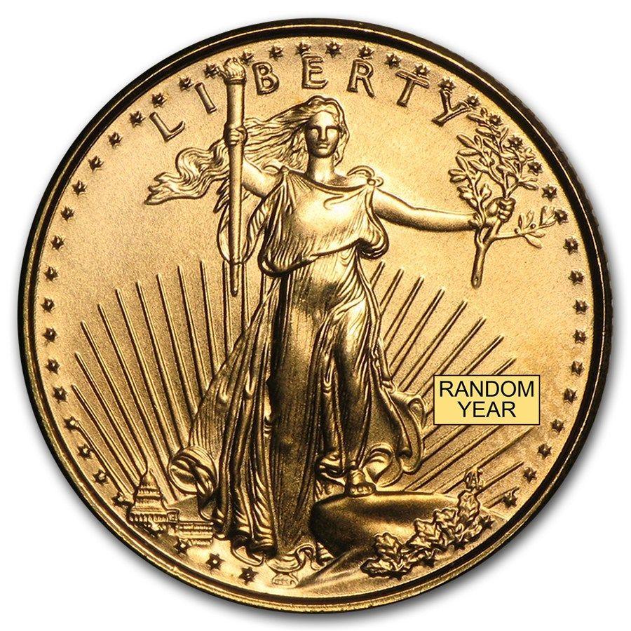 2015 1 Oz Gold American Eagle Bu American Eagle Gold Coin Gold Eagle Coins Eagle Coin