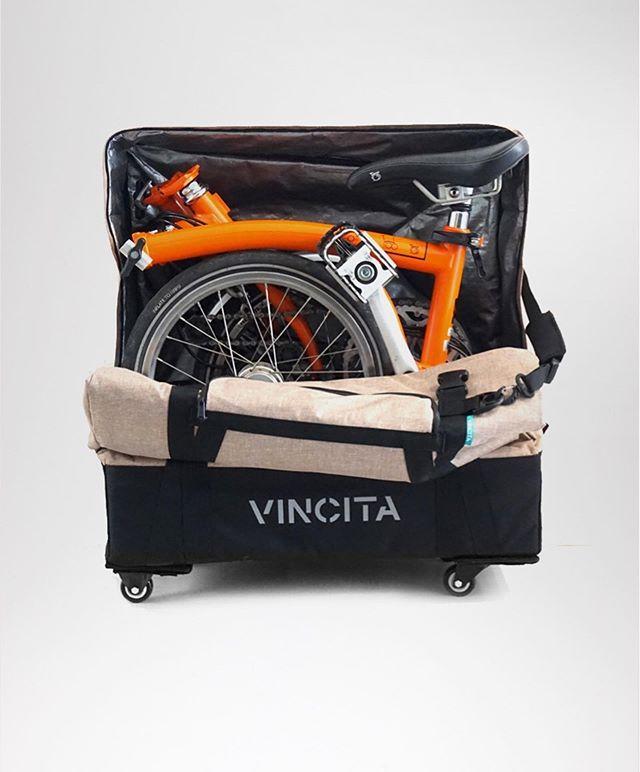Vincita Transport Bag With 4 Wheels Heavy Duty Caster Wheels Bags Bicycle Bag