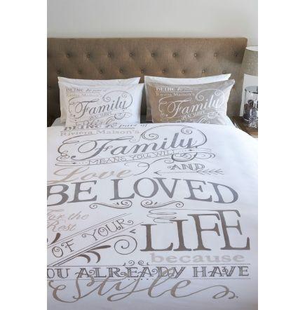RM Family Duvetc taupe 240x220 - Slaapkamer | Rivièra Maison | Home ...