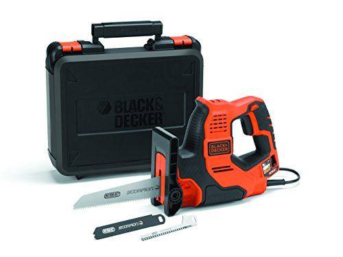 Black Decker Rs890k Scorpion Scie Multi Usages Electrique A Fil 500 W Valigette Black Amazon