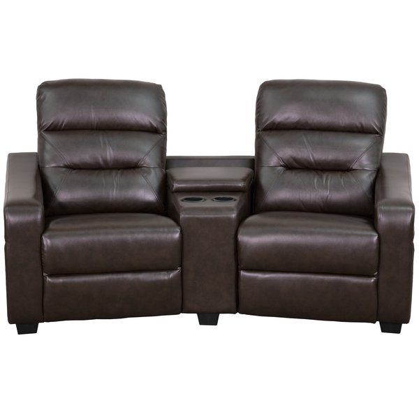 flash furniture futura series home theater recliner theatre style