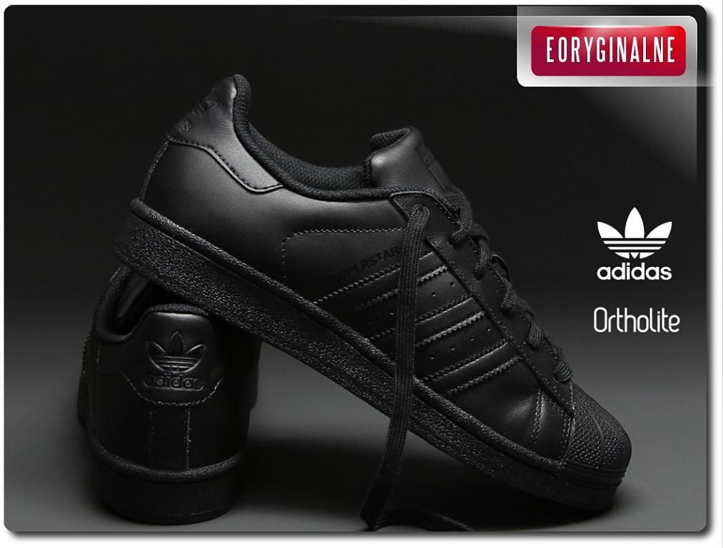 Buty Adidas Superstar Foundation B25724 R 36 40 5720997964 Oficjalne Archiwum Allegro Adidas Superstar All Black Sneakers Black Sneaker