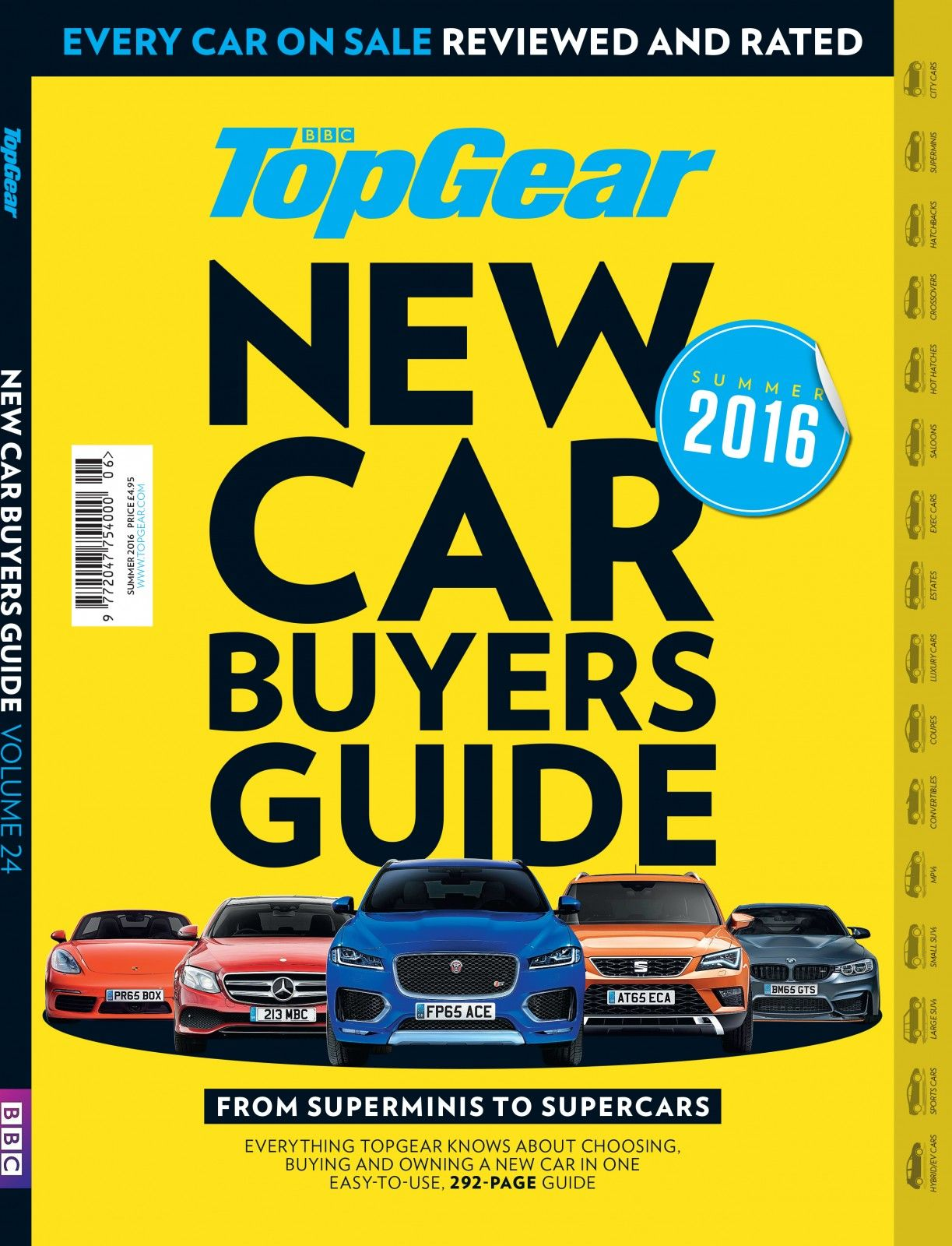 the top gear new car buyers guide every car on sale reviewed and rated summer 2016 edition. Black Bedroom Furniture Sets. Home Design Ideas