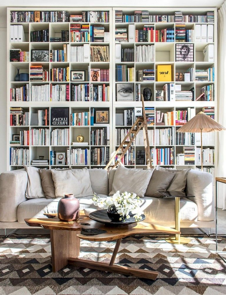 45 Amazing Scandinavian Ideas For Your Home Library Home Library