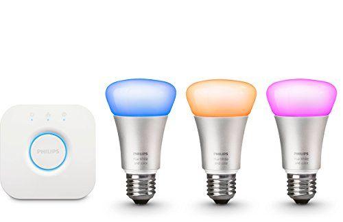 Philips Hue LED Lampe 10 W A60 E27 Starter Set inklusive ... https://www.amazon.de/dp/B016151IRQ/ref=cm_sw_r_pi_dp_x_oWI8xbTJK55GN