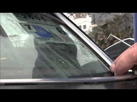 how to remove chevy windshield trim youtube auto auto repair