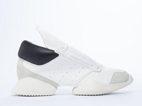 best loved 1c096 f0ff4 Adidas Originals x Rick Owens Runner SS14 runway sneakers in White Black  Bone at Solestruck.com