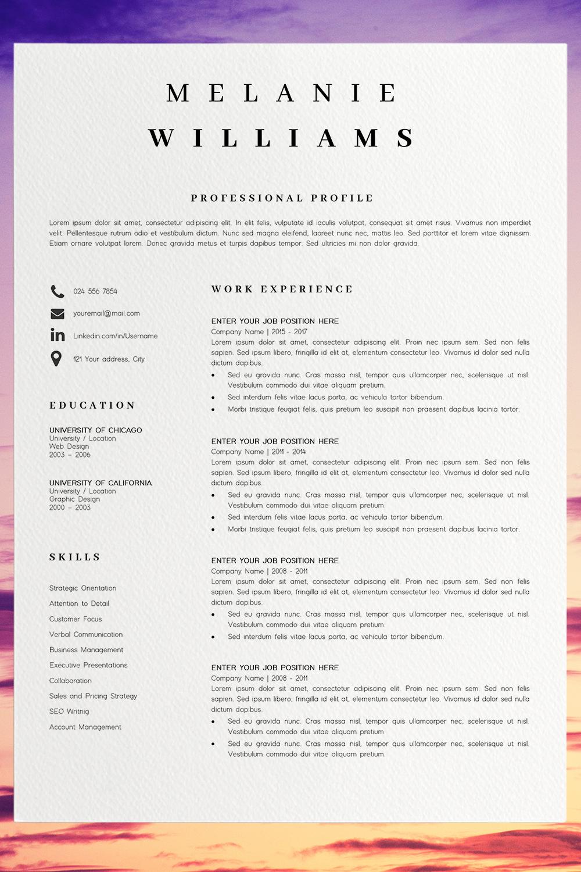 Pin on CV Templates / Resume Templates