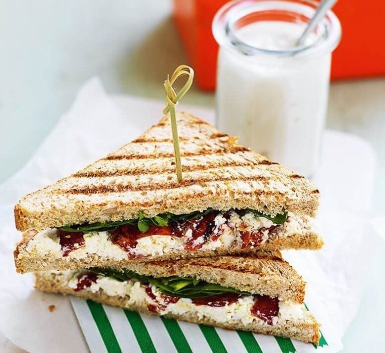 Posh cheese & tomato toasties Recipe Healthy food