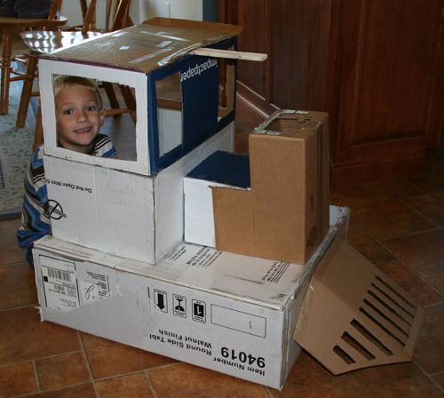 How To Make Cardboard Train Google Search Party Boy
