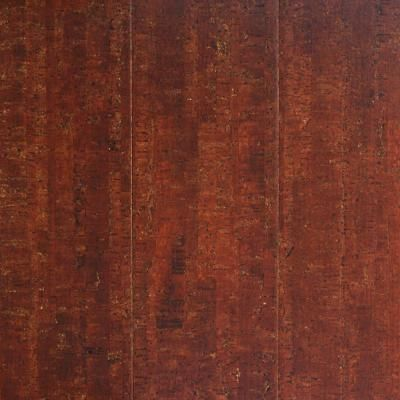 Millstead Spiceberry Plank 13 32 In Thick X 5 1 2 In Wide X 36 In Length Cork Flooring 10 92 Sq Ft Case P Cork Flooring Flooring Cheap Hardwood Floors