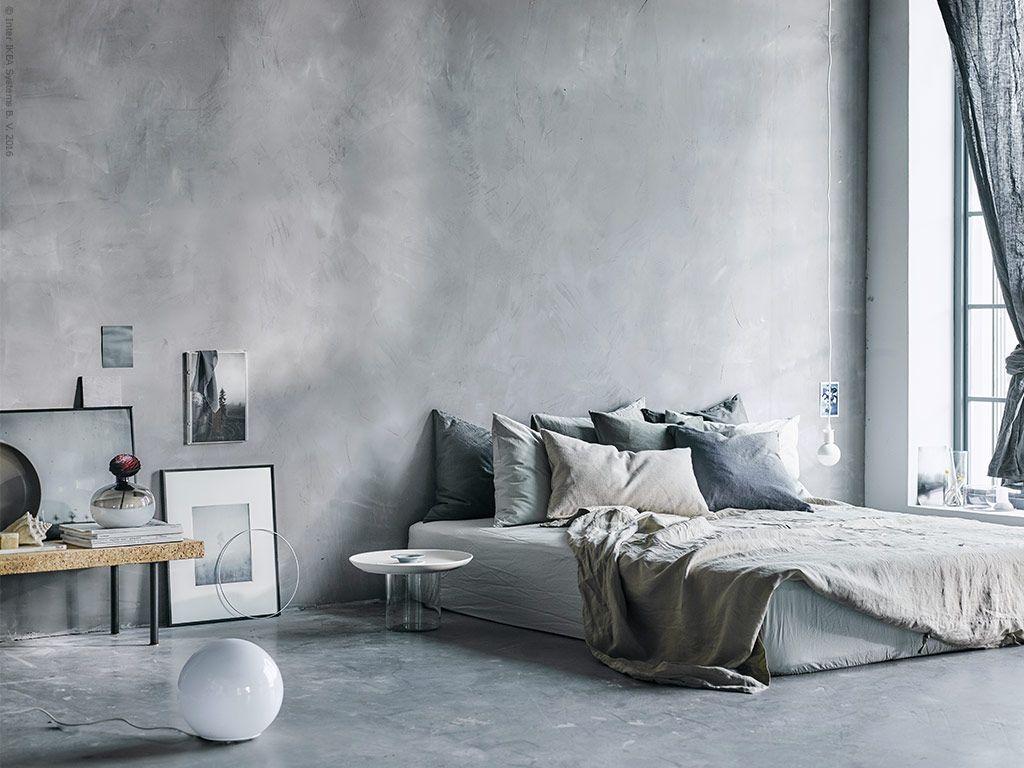 Dreamy Concrete Ikea Bedroom More