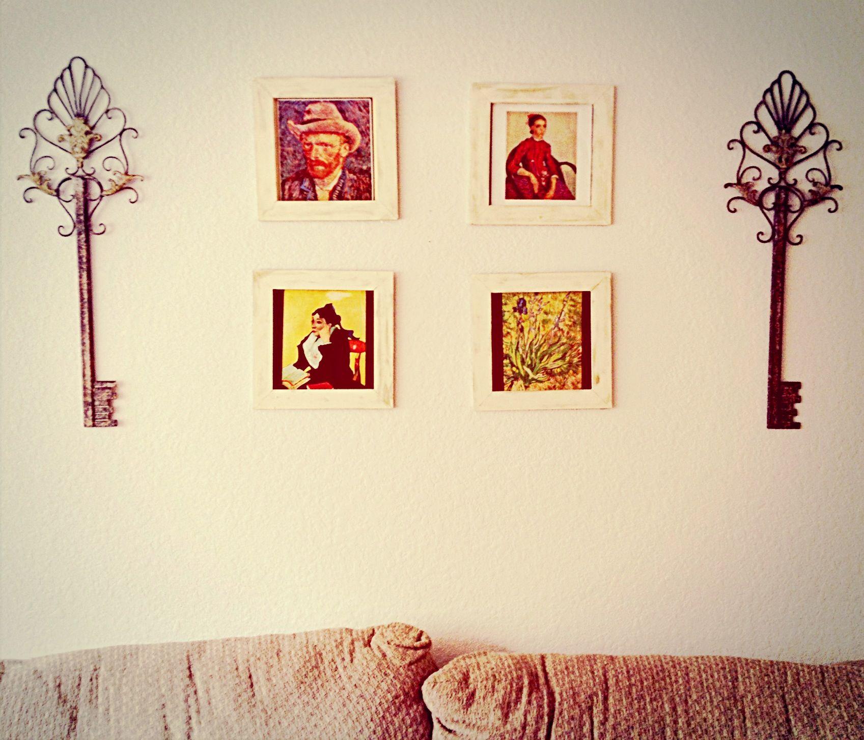 Picasso, vintage, living room, wall decor, keys, vintage wall ...