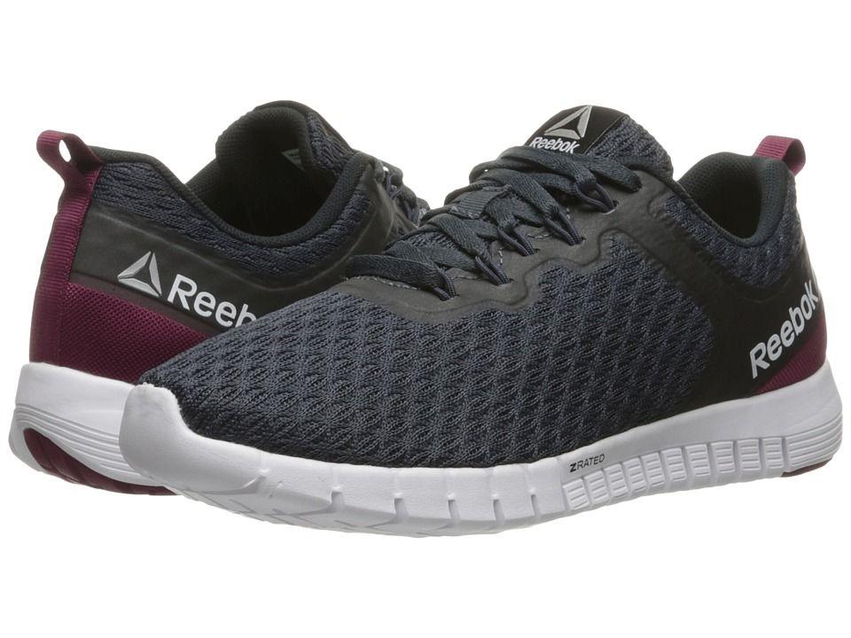 REEBOK REEBOK - REEBOK ZQUICK LITE (SMOKEY BLACK/REBEL BERRY/BLACK/WHITE · ReebokShoes  SneakersWomen's ShoesAthletic ...