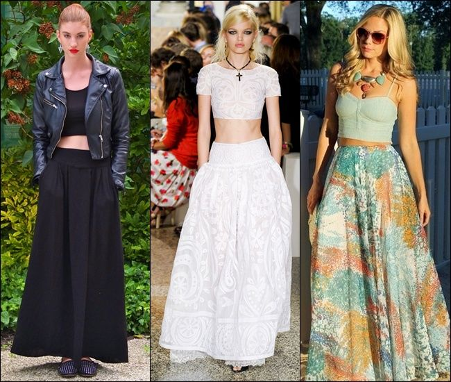 maxi formal skirts | Crop Tops and maxi skirts | mary howe ...