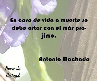 Frases Filosoficas De La Muerte De Antonio Machado Frases