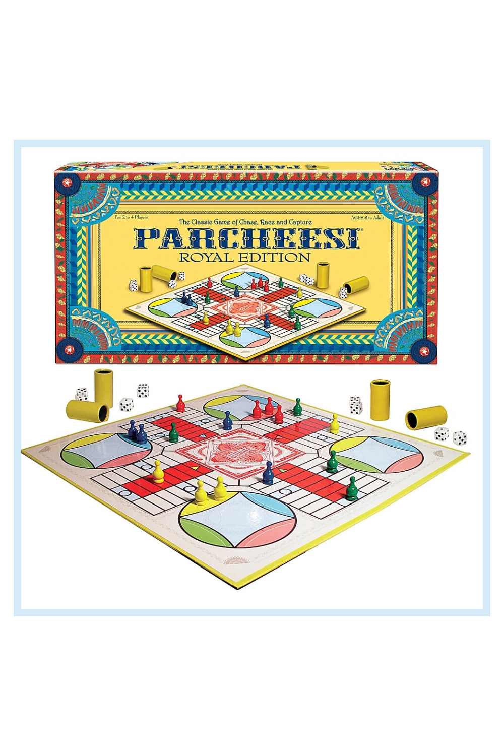 Parcheesi Royal Edition Board Game Classic Board Games Parcheesi Board Game Family Game Night