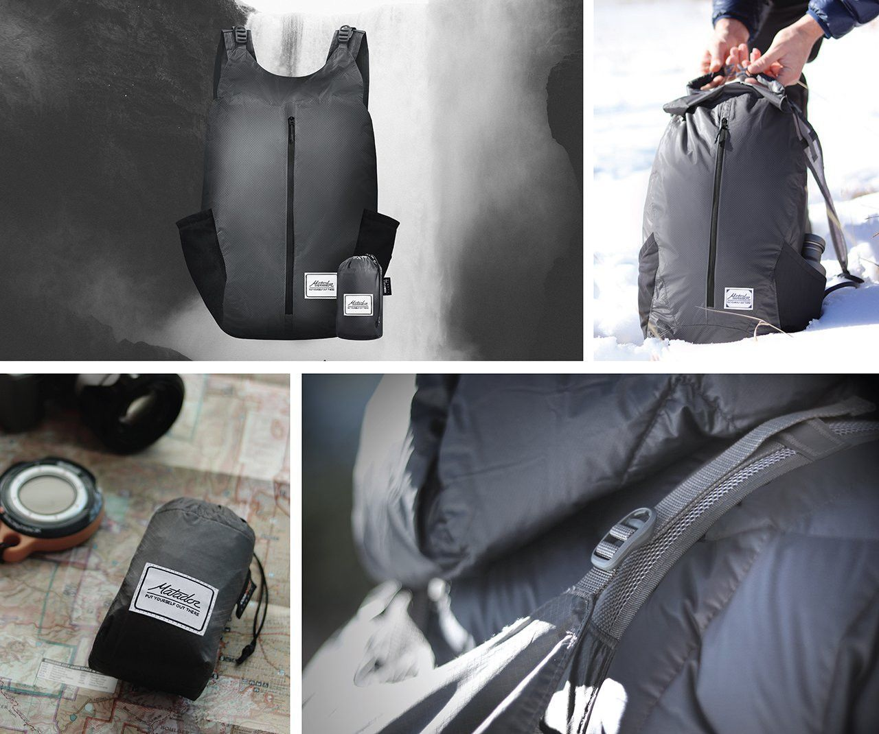 The FreeRain 24 Waterproof Packable Backpack from Matador features the  finest materials available in the outdoor industry to offer superior  performance in ... 52dba7f39e06e
