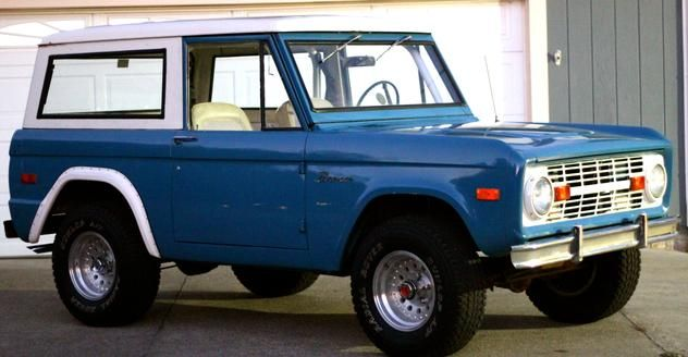 Autotrader Classics 1970 Ford Bronco Truck Blue 6 Cylinder Manual 4 Wheel Drive Classic Trucks Berkeley Ca Ford Bronco Classic Cars Classic Bronco