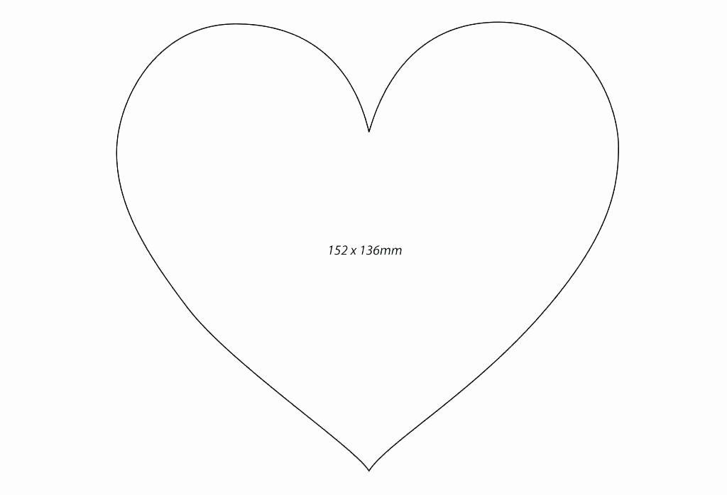 Heart Diagram Blank Best Of Printable Heart Shaped Pattern ...