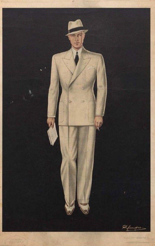 The Workshop Vintage Clothing Men Vintage Mens Fashion Fashion Illustration Vintage