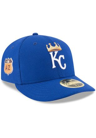promo code 0dd38 876ea KC Royals New Era Mens Blue 2017 Spring Training LC 59FIFTY Fitted Hat