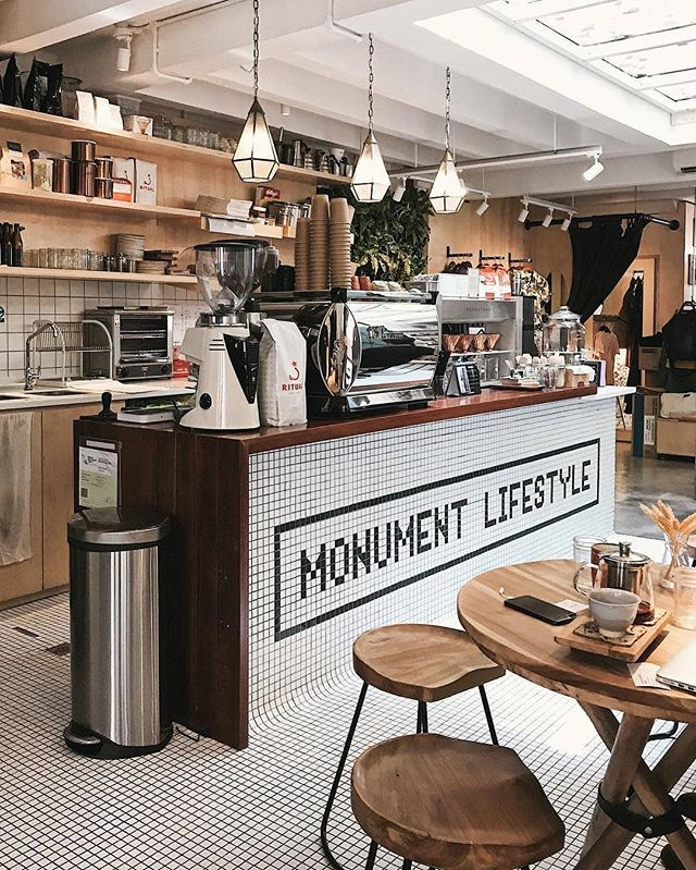 Coffee Shops of The World Monument Lifestyle