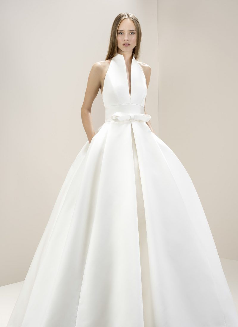 Morgan Davies Are The Exclusive London Stockist Jesus Peiro Designed And Made Entirely In Spain Specialist Brand Bridal Wear