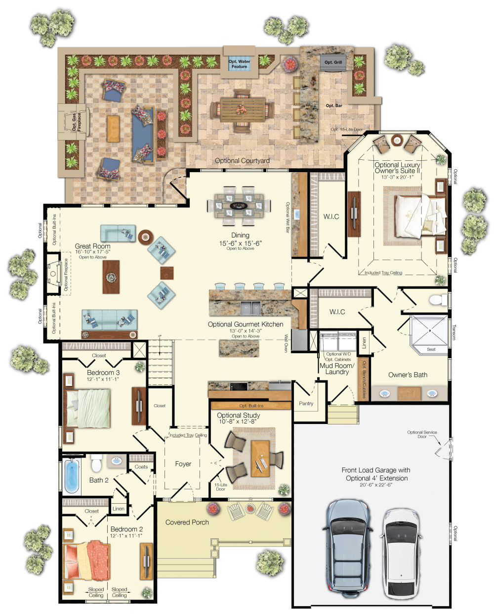 The Whimbrel 1st Floor Floor Plans Studio Floor Plans Family House Plans