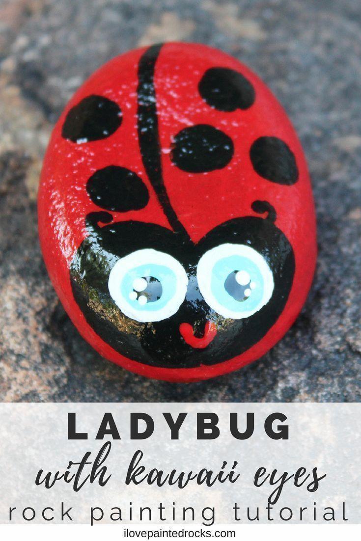 Kawaii Ladybug Painted Skirt /