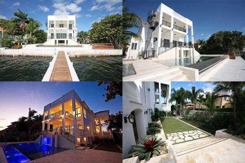 Basketball S Lebron James 9 Million Dollar Waterfront Home In The