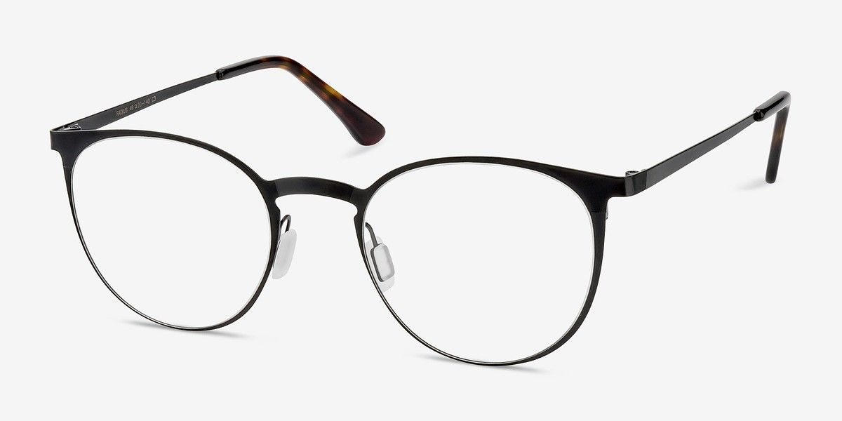 670d496361d Radius Black Metal Eyeglasses from EyeBuyDirect. Discover exceptional  style