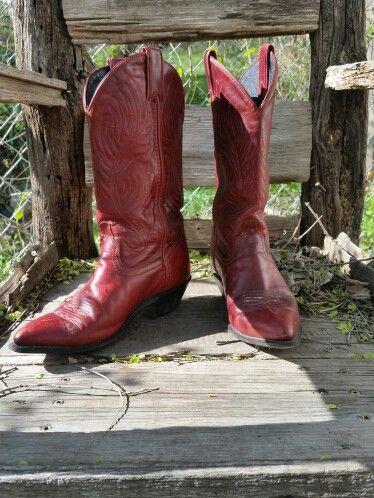 Vintage code west boots!