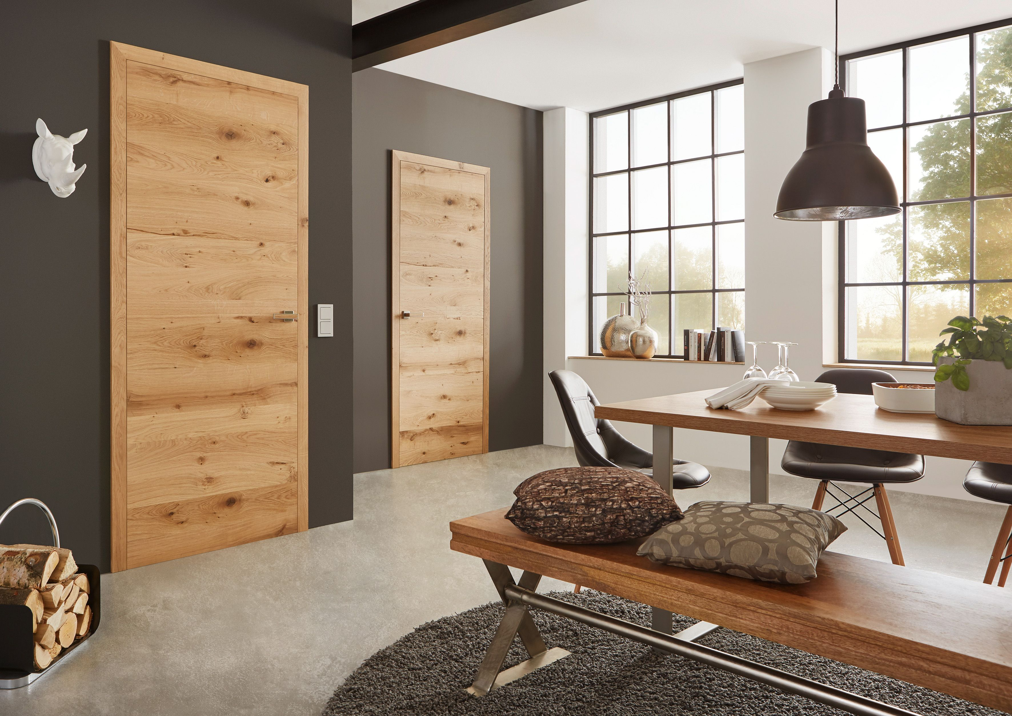 Interior doors, real wood modern and high quality in processing …