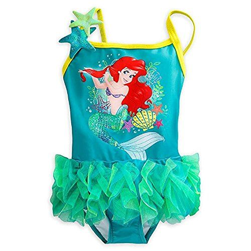1d3fe76b4b Disney Store Princess The Little Mermaid Ariel Girl One Piece Swimsuit 4         AMAZON BEST BUY     DisneySwimsuits