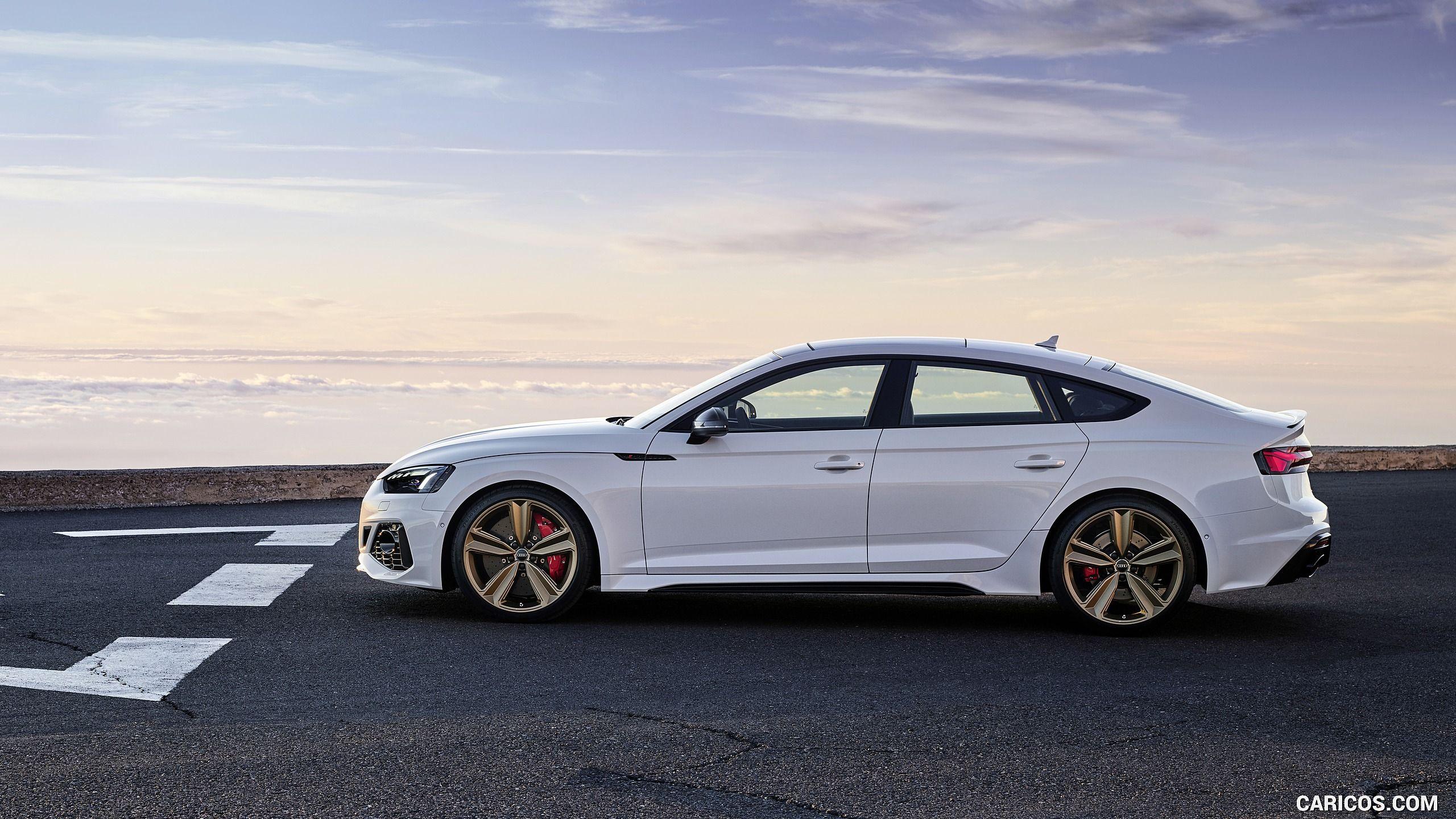 2020 Audi Rs 5 Sportback Color Glacier White Side Hd 2020 Audi Audi Rs Audi Rs 5