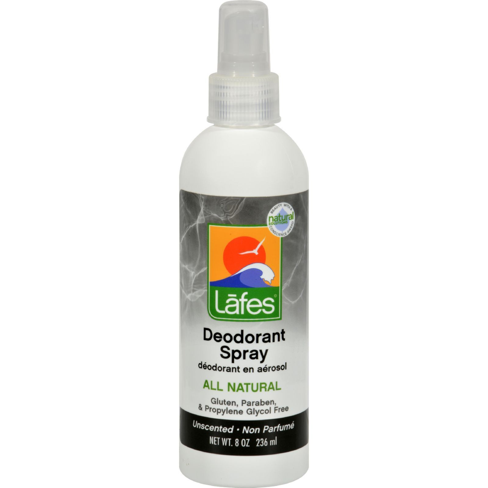 Lafes Natural and Organic Deodorant Spray   fl oz  Lafes Natural