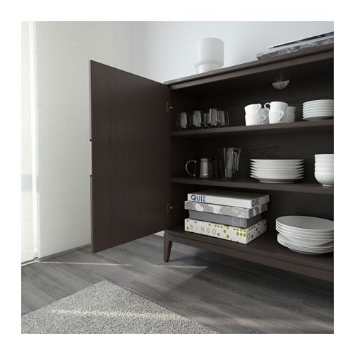 regissr cabinet brown ikea with buffet noir ikea. Black Bedroom Furniture Sets. Home Design Ideas
