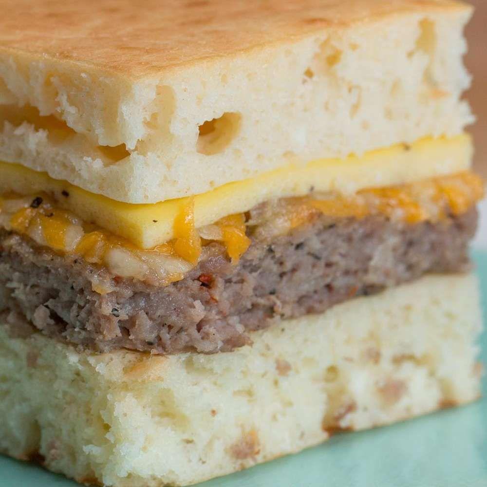 Sheet Pan Breakfast Sandwich Recipe by Tasty